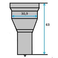 Ronde pons nr. 9001 Ø 4-30 mm