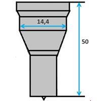 Ronde pons nr. 1 (GN5-15) Ø 4-14 mm