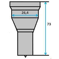 Ronde pons nr. 3 Ø 8-26 mm