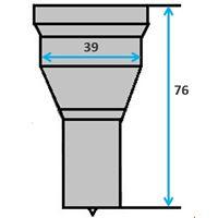 Ronde pons nr. 6 Ø 27-39,5 mm